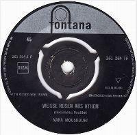 Cover Nana Mouskouri - Weiße Rosen aus Athen