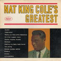 """Cover Nat """"King"""" Cole - Nat """"King"""" Cole's Greatest"""