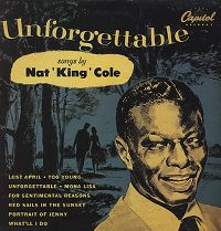 """Cover Nat """"King"""" Cole - Unforgettable"""
