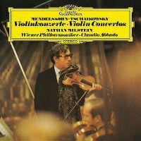 Cover Nathan Milstein / Wiener Philharmoniker / Claudio Abbado - Mendelssohn - Tschaikowsky: Violinkonzerte - Violin Concertos
