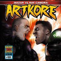 Cover Nazar vs. RAF Camora - Artkore