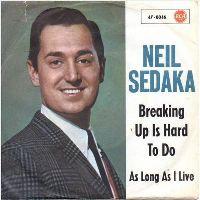 Cover Neil Sedaka - Breaking Up Is Hard To Do
