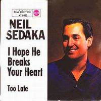 Cover Neil Sedaka - I Hope He Breaks Your Heart