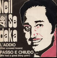 Cover Neil Sedaka - L'Addio (Star Crossed Lovers)