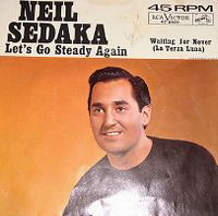 Cover Neil Sedaka - Let's Go Steady Again