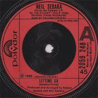 Cover Neil Sedaka - Letting Go