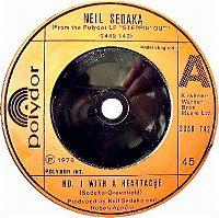 Cover Neil Sedaka - No. 1 With A Heartache
