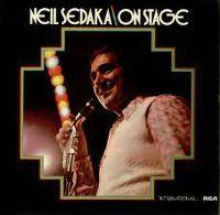 Cover Neil Sedaka - On Stage