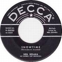 Cover Neil Sedaka - Snowtime