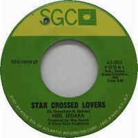 Cover Neil Sedaka - Star Crossed Lovers