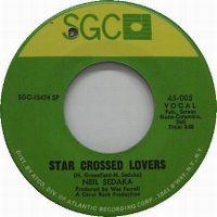 Cover Neil Sedaka - Star Crossed Lovers