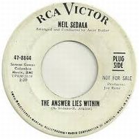 Cover Neil Sedaka - The Answer Lies Within