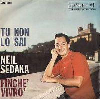 Cover Neil Sedaka - Tu non lo sai