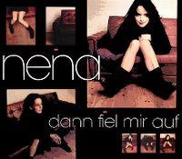 Cover Nena - Dann fiel mir auf