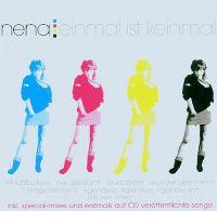 Cover Nena - Einmal ist keinmal