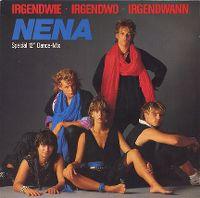 Cover Nena - Irgendwie, irgendwo, irgendwann