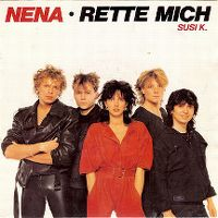 Cover Nena - Rette mich