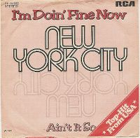 Cover New York City - I'm Doin' Fine Now