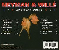 Cover Neyman & Willé - American Duets