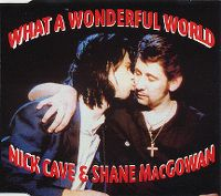 Cover Nick Cave & Shane MacGowan - What A Wonderful World