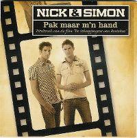 Cover Nick & Simon - Pak maar m'n hand