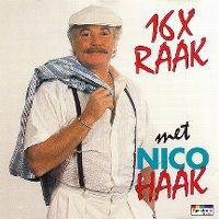 Cover Nico Haak - 16 x raak met Nico Haak