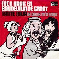 Cover Nico Haak en Boudewijn de Groot - Tante Julia