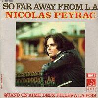 Cover Nicolas Peyrac - So Far Away From L.A.