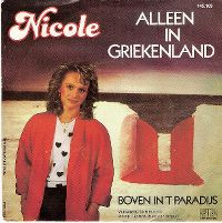 Cover Nicole - Alleen in Griekenland