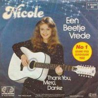 Cover Nicole - Een beetje vrede