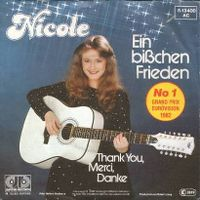 Cover Nicole - Ein bißchen Frieden