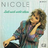 Cover Nicole - Lass mich nicht allein