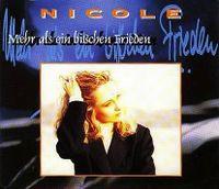 Cover Nicole - Mehr als ein bißchen Frieden