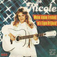 Cover Nicole - Meine kleine Freiheit / M'n eigen vrijheid