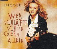 Cover Nicole - Wer schläft schon gern allein