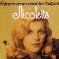 Cover Nicoletta - Enfants venez chanter l'espoir