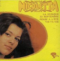 Cover Nicoletta - La musique