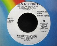 Cover Nicolette Larson - Let Me Be The First
