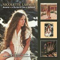 Cover Nicolette Larson - Nicolette / In The Nick Of Time / Radioland