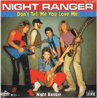 Cover Night Ranger - Don't Tell Me You Love Me