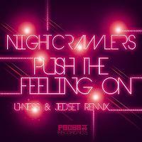 Cover Nightcrawlers - Push The Feeling On (U-Ness & JedSet 2015 Soulheat Radio Edit)
