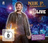 Cover Nik P. - Löwenherz - Live