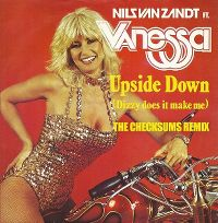Cover Nils van Zandt feat. Vanessa - Upside Down (Dizzy Does It Make Me) - The Checksums Remix