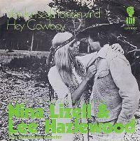 Cover Nina Lizell & Lee Hazelwood - Vem kan segla förutan vind
