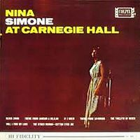 Cover Nina Simone - At Carnegie Hall