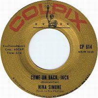 Cover Nina Simone - Come On Back Jack