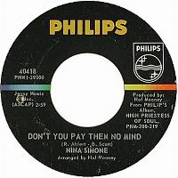 Cover Nina Simone - Don't You Pay Them No Mind