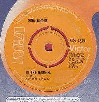Cover Nina Simone - In The Morning