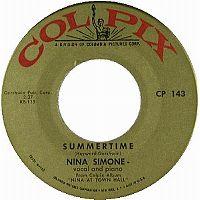 Cover Nina Simone - Summertime (Live)