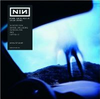 Cover Nine Inch Nails - Year Zero